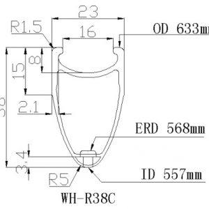 spec WH R 38 C