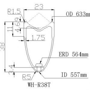 spec WH R 38 t